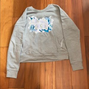 Grey graphic sweatshirt